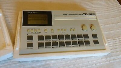 Roland TR-505 Rhythm Composer / Drum Machine boxed with manuals