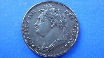 Pleasing toned & circulated King George IV 1822 farthing - jwhitt60 coins