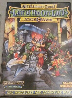 Warhammer Quest Lair of The Orc Lord expansion pack (complete and boxed)