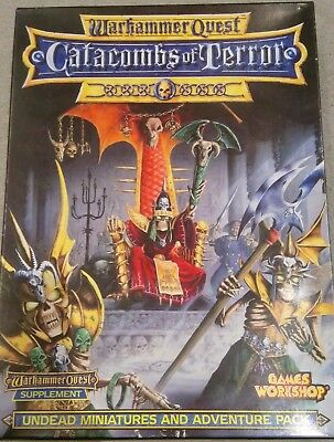 Warhammer Quest Catacombs of Terror expansion pack (complete and boxed)