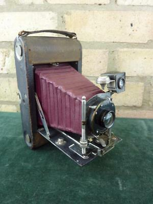 vintage Kodak No 3 Flush back  model A Folding roll film folding camera