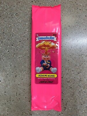 Santa Cruz Garbage Pail Kids Adam Bomb Unopened Random Skateboard Deck LTD Rare