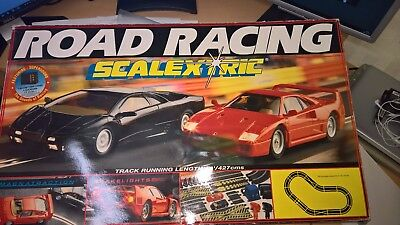 Scalextric Road Racing Boxed Set
