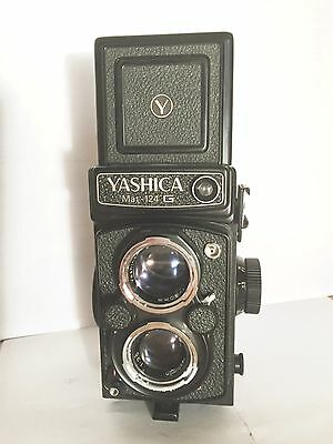 Yashica Mat-124G - TLR - WORKING LIGHTMETER - Excellent - Top Zustand