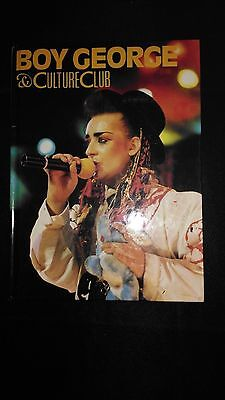 Boy George And Culture Club Annual 1984 Vintage/Retro Pop Music
