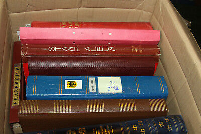 Box Of 13 Worldwide Collns All Eras M & U - Sold As One Large Lot