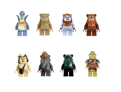 CUSTOM compatible LEGO Star Wars Ewok Minifigure