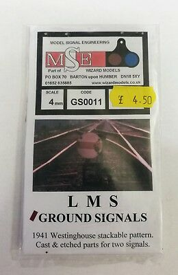 MSE GS0011 Ground Signals for 4mm scale