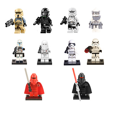 Figurine custom TROUPES DE L'EMPIRE STAR WARS compatible lego