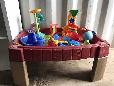 Childrens stage 2 Water Play Table And Accessories