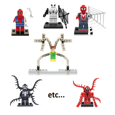 Figurine custom Spider-man Marvel compatible lego