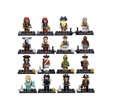 Figurine Custom Pirates des Caraïbes compatible lego