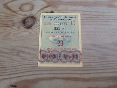 1962 World Cup Ticket, Hungary v Argentina
