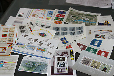 Germany - Collection Of Miniature Sheets, All Unmounted Mint