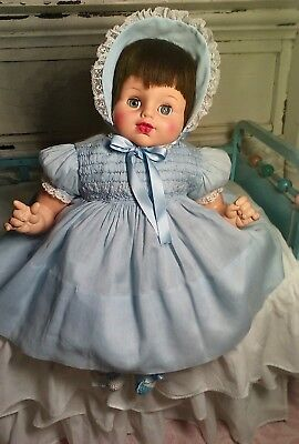 """Vintage Rare 24"""" Uneeda Baby Doll Signed and Numbered💕"""