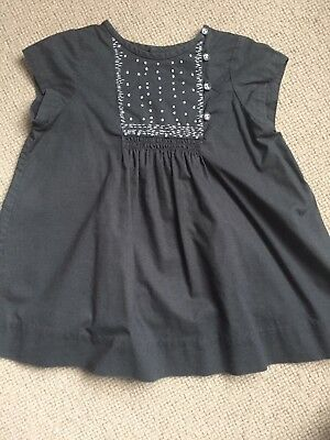 Beautiful Bonpoint Baby girls dress. Perfect for Christmas.