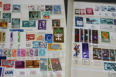 Israel - Pre 1970 Unmounted Mint Colln In Stocksheets - Much With Tabs
