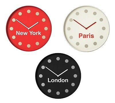 Wall Clock Simple Stylish Designs Plastic And Glass Wall Mounted Clocks Home