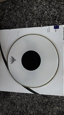 Remo Controlled Sound Smooth White Drum Head Skin with Black Dot
