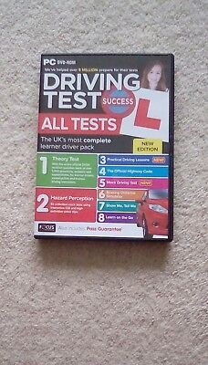 Driving Theory Test & Hazard Test - CAR. PC DVD CD ROM - NEW 2017 atp