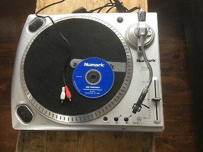 Numark TT-USB DJ Turntable Deck Record Player PC MAC