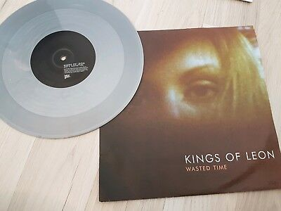 Kings of Leon Wasted Time limited silver vinyl, great cond individually numbered
