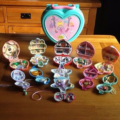 Polly Pocket Bundle In Very Good Condition