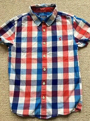 Joules Boys age 8 Short Sleeved Shirt