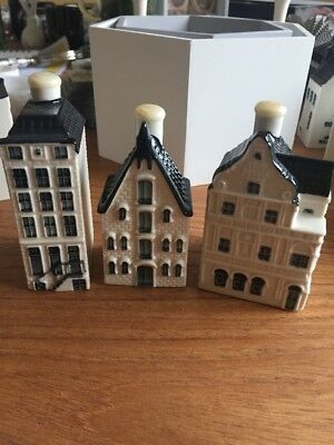 Klm Bols Delft House, Sealed AND EMPTY, No. 57, 70 And 85