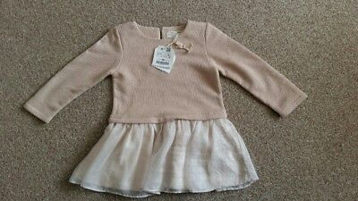 Zara baby girl 12-18 party dress new with tags