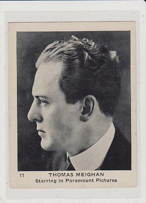 1922 Strollers Cigarettes Movie Stars Thomas Meighan #11