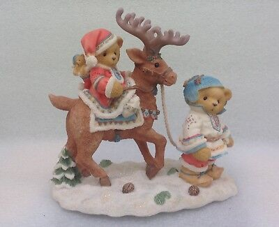 Cherished Teddies - Sven And Liv - Limited Edition - Will Combine Postage