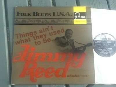 JIMMY REED THINGS AINT WHAT THEY USED TO BE FONTANA 688 514 ZL1964 recording NM