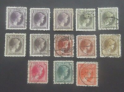 Luxembourg-1926 series-Excess Stock-Used