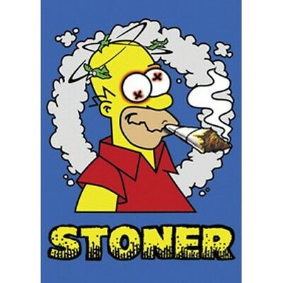 The SIMPSONS - OMER - STONER - Cannabis - 61x91,5cm - AFFICHE /POSTER envoi roul