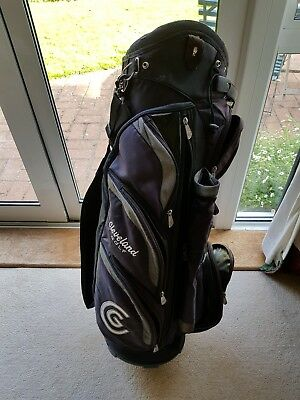 Used - Cleveland Golf Cart Trolley Bag - PURPLE