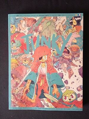 Junky by Guillaume Singelin - peow studio out of print comic/graphic novel