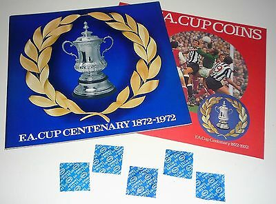 Esso Fa Cup Centenary 1872-1972 Coin Collection Plus Extras