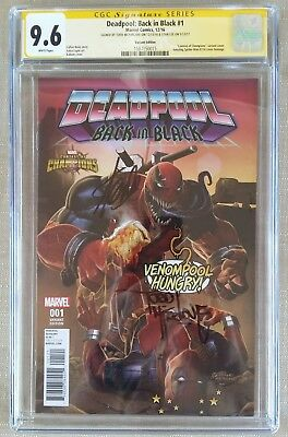 Deadpool Venom 1 Back In Black  Cgc Ss 2X