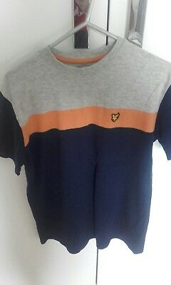 lyle and scott t shirt boys age 14-15