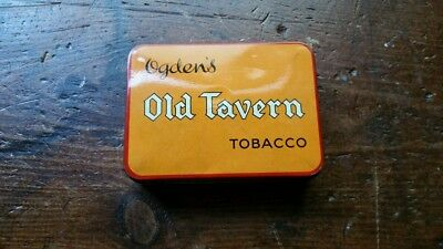 Ogdens Old Tavern tobacco tin. 1940s