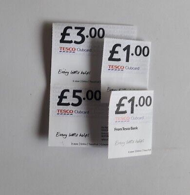 £10.00 Tesco Club Card Vouchers worth up to £40 in Deals