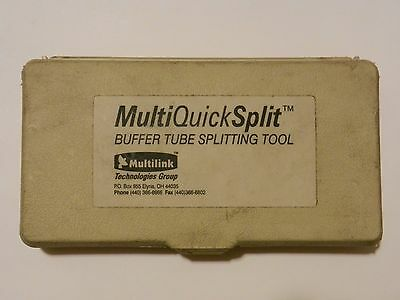 Multilink US2000 - Multi-Quick Split Buffer Tube Splitter