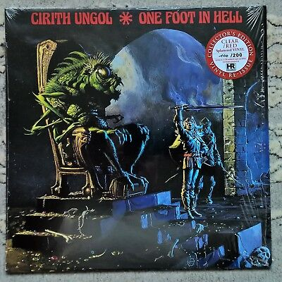 Cirith Ungol - One Foot in Hell - 100/200 Ltd. Clear & Red Splattered Vinyl LP
