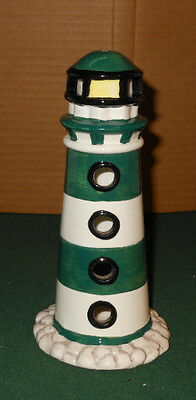 Lighthouse Figurine Candle Holder