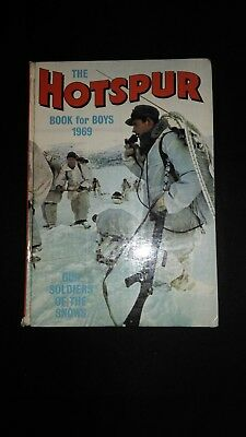 The Hotspur Book For Boys 1969 Vintage Adventure/Action Annual
