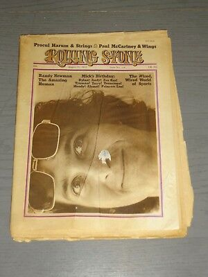 Rolling Stone - PETER CRISS/KISS CLASSIFIED AD! AUG1972 - AUCOIN - KISStory!