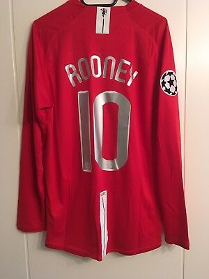 Manchester United Trikot Jersey 2008 CL Finale