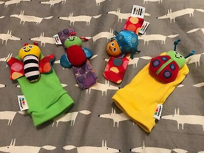 Lamaze Baby Wrist and Foot Rattles, new, unused, unboxed