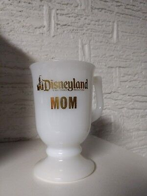 Vintage Disney Land Cup Mug MOM white